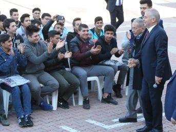 Başkan Zolan, Lise Öğrencilerine Misafir Oldu