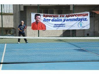 Merkezefendi'de Tenis Turnuvası