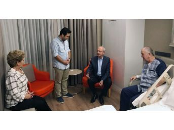 Kılıçdaroğlu, By-pass Olan Bektaşoğlu'nu Ziyaret Etti
