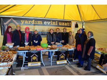 Ak Parti'li Kadınlardan Arakanlı Müslümanlar İçin Kermes