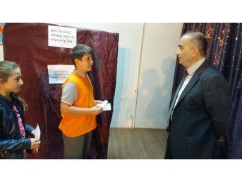 Fatsa'da Öğrenci Meclisi Başkanlığı Seçimi