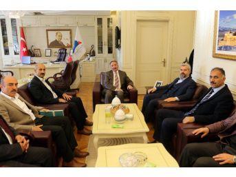 Eğitim Bir-sen'den Rektör Karabulut'a Ziyaret