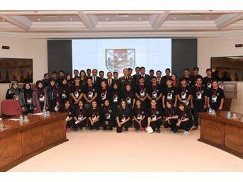 Sarıkamışlı Lise Öğrencilerinden Genelkurmay Başkanlığına Ziyaret