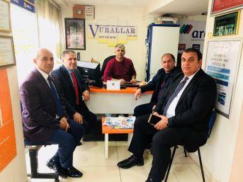 İstanbul Avrupa Yakası Ardahanlılar Derneğinden Başkan Vural'a Ziyaret