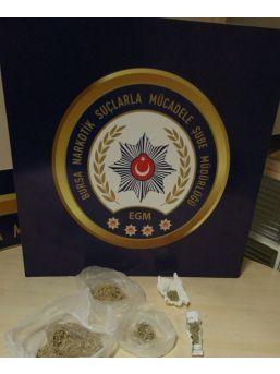 Uyuşturucu Taciri Yakayı Ele Verdi