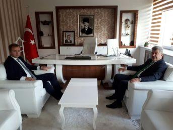 Başkan Yiğit'ten Yeni Kaymakama Hayırlı Olsun Ziyareti