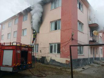 Patlayan Televizyon Yangın Çıkarttı