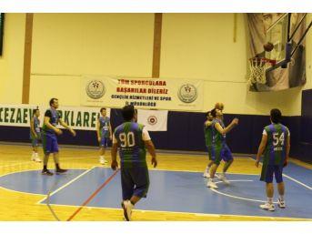 Kurumlar Arası Basketbol Turnuvası Sona Erdi