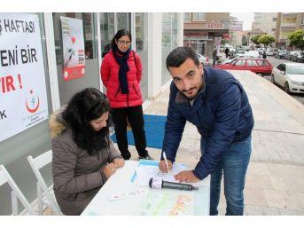 Yerel Basın Çalışanlarından Organ Bağışı Kampanyasına Destek