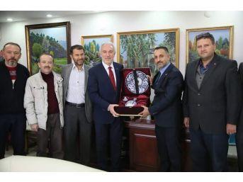 Başkan Kamil Saraçoğlu'na Unesco Teşekkürü