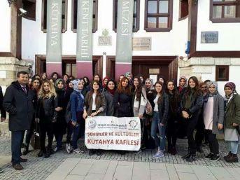 Şaphane'de Meslek Yüksekokulu Ve Lise Öğrencilerine Kültür Gezisi