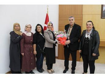 Başkan Toçoğlu, Ak Parti Karapürçek Kadın Kolları İle Bir Araya Geldi