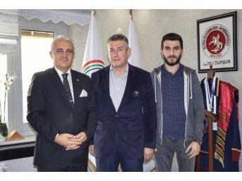 İha'dan Sakarya Cumhuriyet Başsavcısı Dursun'a Ziyaret