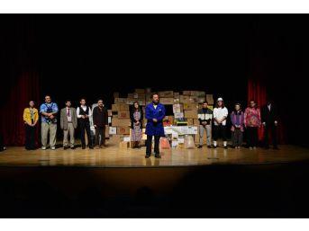 Erbaa Belediyesi Şehir Tiyatrosu Turneye Hazırlanıyor
