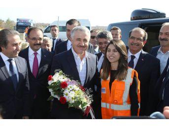 Ulaştırma, Denizcilik Ve Haberleşme Bakanı Arslan Uşak'ta