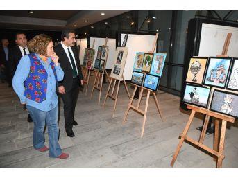 2. Uluslararası Çukurova Karikatür Festivali Başladı