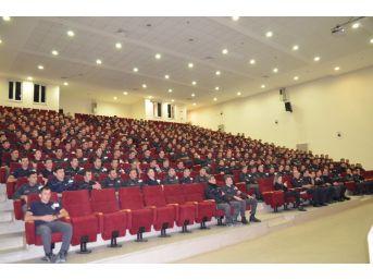 Polis Adaylarına Öfke Kontrolü Eğitimi Verildi