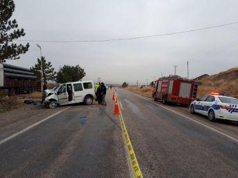 Amasya'da Trafik Kazası: 1 Ölü, 5 Yaralı
