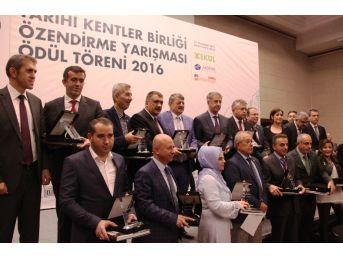 Tarihi Ve Kültürel Mirasa Sahip Çıkan Belediyeler Ödüllendirildi