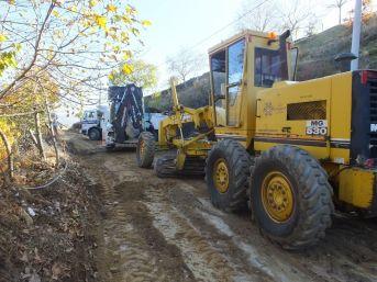 Nazilli'nin Dağ Köylerinde Çalışmalar Sürüyor