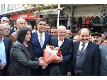 Kafaoğlu Büyükşehir Belediye Başkanı Olarak İlk Kez Bandırma'da