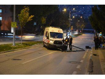 Hasta Taşıyan 112 Ambulansı Kaza Yaptı