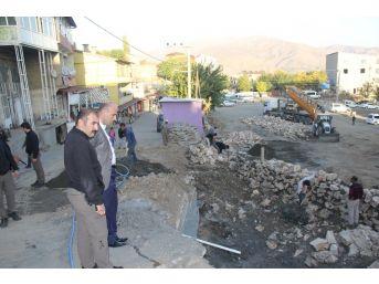 Kayyum Atanan Başkan Dülgeroğlu Yol Genişletme Çalışmalarını İnceledi