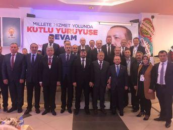 Giresun Ak Parti Teşkilatı'nda 8 İlçe Başkanı Değişti