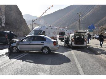 Gümüşhane'de Trafik Kazası: 7 Yaralı