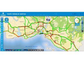 İstanbullulara Mesai Çıkışında Trafik Şoku