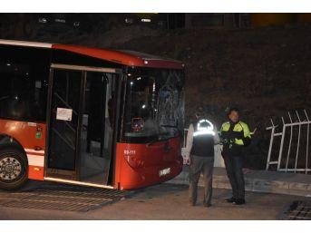İki Otobüs Arasında Kalan Talihsiz Adam Hayatını Kaybetti