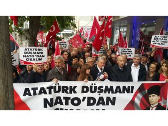 Vatan Partisinden Nato'ya Protesto
