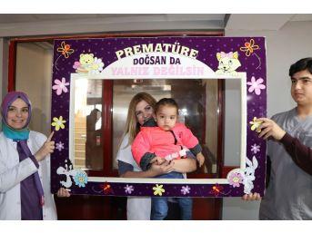 Hastanede 'dünyaya Gözlerini Erken Açan Çocuklar' İçin Etkinlik