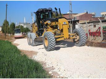 Haliliye Belediyesi, Kırsalda Yol Yapım Çalışmalarını Sürdürüyor