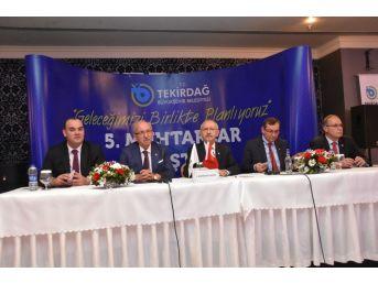 Tekirdağ Muhtarlar Çalıştayı Kemal Kılıçdaroğlu'nun Katılımı İle Gerçekleşti