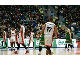 Tahincioğlu Basketbol Süper Ligi: Muratbey Uşak: 71 - Banvit: 89