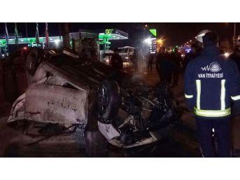Van'daki Trafik Kazasında Yaralananlardan Biri Hayatını Kaybetti