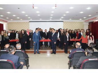 Tutak'ta 24 Kasım Öğretmenler Günü Törenle Kutlandı