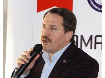 """Memur-sen Genel Başkanı Yalçın: """"taşerona Kadro, Kamuda Güvence Bekleyen Çalışana Kadro Başlığıyla Sunulmalı"""""""