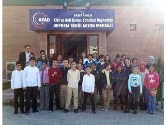 """Altındağlı Çocuklara """"deprem"""" Eğitimi"""