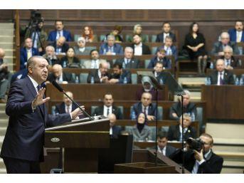 Cumhurbaşkanı Erdoğan'dan Chp'ye Sert Eleştiri
