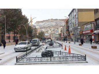 Bayburt'ta Kar Yağışı Kazaları Beraberinde Getirdi