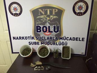 Bolu'da Uyuşturucu Operasyonu: 5 Gözaltı