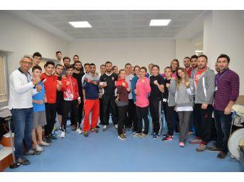 Karate Milli Takımı, Olimpiyatlara Uludağ Üniversitesi'nde Hazırlanıyor