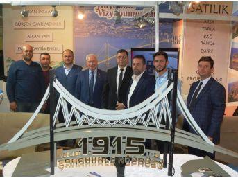 Çanakkale 1915 Köprüsünün Maketi İlgi Görüyor
