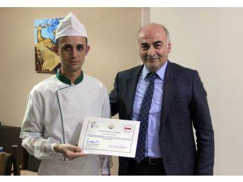 Trakya Üniversitesi 'aşçılık Eğitim' Projesi Sona Erdi