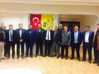 Birlik Haber Sen Genel Başkanı Budak Erzincan'da