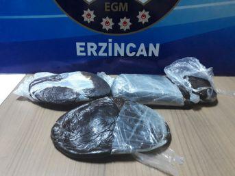 Erzincan Da Son Bir Ayda Üzerinde Uyuşturucu İle Yakalanan 7 Kişi Tutuklandı