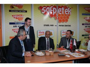 Türkiye'nin En Kapsamlı 2.arıcılık Fuarına, Erzincan Saf Petek Firması Damga Vurdu