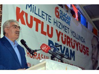 Erzurum Ak Parti'de 4 İlçenin 6. Olağan Kongresi Yapıldı